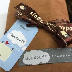 Sleepypod - Cloudpuff Blankie - Chestnut - Large