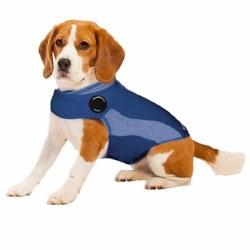 ThunderWorks - ThunderShirt Anxiety Jacket - Blue Polo - Small