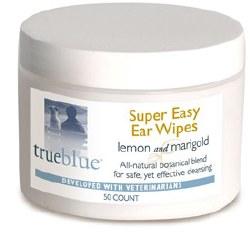 True Blue - Super Easy Ear Wipes - 50 ct