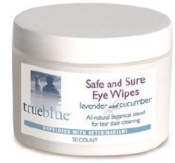 True Blue - Safe and Sure Eye Wipes - 50 ct