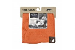 Tall Tails - Cape Towel - Orange Bone - 27x27""