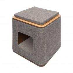 Vesper - Cat Furniture - Cubo - Stone