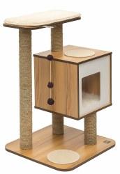 Vesper - Cat Furniture - V-Base - Walnut