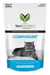 VetriScience - Composure Soft Chews for Cats - 30 ct