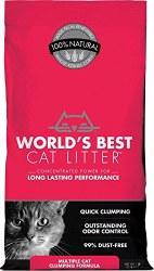World's Best - Clumping Cat Litter - Multiple Cat - 28lb