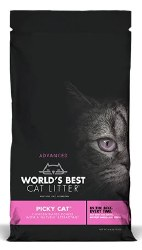 World's Best Multiple Cat Clumping Litter - Picky Cat - 24 lbs