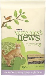 Yesterday's News Soft Texture Unscented Cat Litter - 13lb