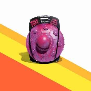 Alien Flex - Rubber Dog Toy - Flying Saucer