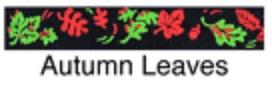 Beastie Bands - Cat Collar - Autumn Leaves