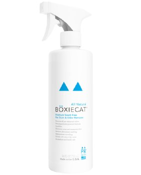 Boxiecat - Stain and Odor Remover Spray - Scent Free - 24 oz