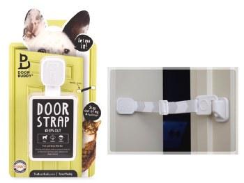 Door Buddy - Gray Chevron - 2 pack
