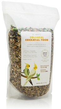 Dr. Harvey's - Colossal Cockatiel Food - 4 lb