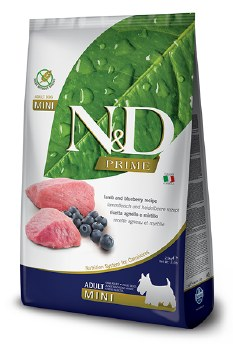 Farmina N&D Prime - Lamb and Blueberry Adult Mini - Dry Dog Food - 5.5 lb
