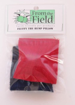 From the Field - Cat Toy - Fluffy the Hemp Pillow - 2 Pack