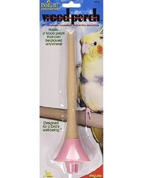 JW - Insight - Wood Bird Perch - Small