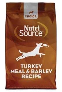 Nutrisource - Dry Dog Food - Choice Turkey Meal and Barley Recipe - 30 lbs
