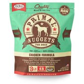 IN STORE AND CURB-SIDE PICK UP ONLY - Primal - Chicken Formula - Raw Dog Food - 3 lb