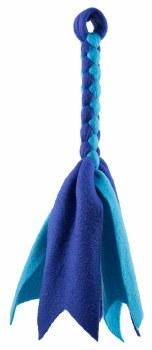 Squishy Face - Dog Toy - Flirt Pole Replacement Lure - Blue/Aqua