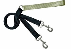 "2 Hounds - Freedom Leash - Tan - 1"" Wide"