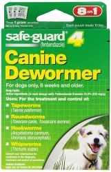 8in1 - SafeGuard Dog Dewormer - Small Dog - 1 gram