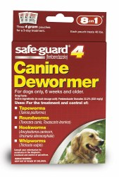 8in1 - SafeGuard Dog Dewormer - Large Dog - 4 grams