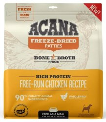 Acana - Freeze-Dried Patties - Free-Run Chicken Recipe - Freeze-Dried Dog Food - 14 oz