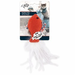 All For Paws - Cat Toy - Vintage - Feather Fish