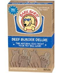 Bark Bars - Dog Treats - Beef Burger Deluxe - 12 oz