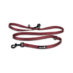 Alcott - Adjustable Leash - Red - Medium