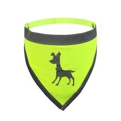 Alcott - Visibility Dog Bandana - Yellow - Medium