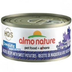 Almo Nature - Mackerel with Sweet Potatoes in Gravy - Canned Cat Food - 2.47 oz