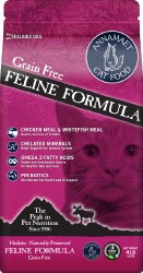 Annamaet - Grain Free Chicken and Fish - Dry Cat Food - 4 lb