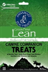 Annamaet - Lean Reduced Fat Formula - Dog Treats - 10 oz