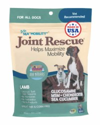 Ark Naturals - Sea Mobility Joint Rescue Chews - Lamb - 9 oz
