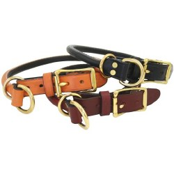 "Auburn - 1"" Combination Choke Collar - Black - 20"""