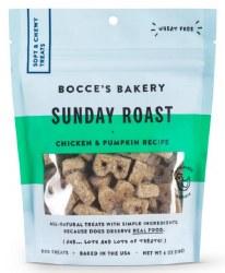 Bocce's Bakery - Soft and Chewy Dog Treats - Sunday Roast - 6 oz