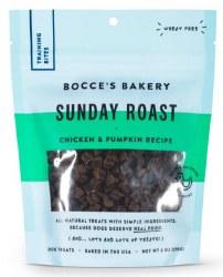 Bocce's Bakery - Soft and Chewy Dog Treats - Sunday Roast Training Treats - 6 oz