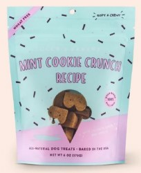 Bocce's Bakery - Scoop Shop Soft and Chewy - Mint Cookie Crunch - Dog Treats - 6 oz