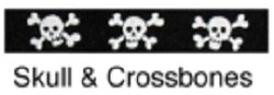 Beastie Bands - Cat Collar - Skull & Crossbones