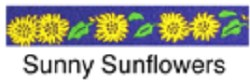 Beastie Bands - Cat Collar - Sunny Sunflowers