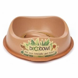 Beco Pets - Beco Slow Feed Bowl - Brown