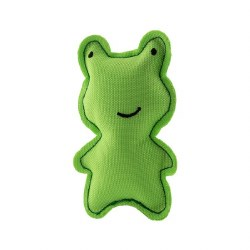 Beco Pets - Cat Toy - Recycled Catnip Toy - Frog