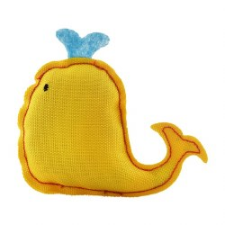 Beco Pets - Cat Toy - Recycled Catnip Toy - Whale