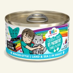 BFF OMG - Chicken & Turkey QT Patootie - Canned Cat Food - 2.8 oz