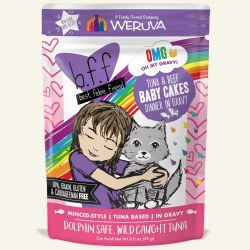 BFF OMG - Babycakes with Tuna & Beef - Pouch Cat Food - 3oz