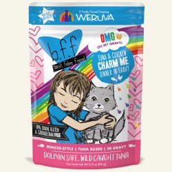 BFF OMG - Charm Me Tuna & Chicken - Pouch Cat Food - 3oz