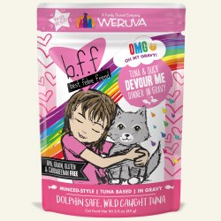 BFF OMG - Devour Me with Tuna & Duck - Pouch Cat Food - 3oz