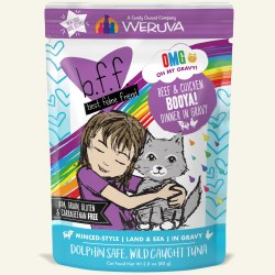 BFF OMG - Booya Beef & Chicken - Pouch Cat Food - 2.8 oz