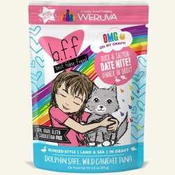 BFF OMG - Date Nite with Duck & Salmon - Pouch Cat Food - 2.8 oz