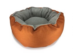 Big Shrimpy - Catalina Plush Bed - Mandarin - Medium